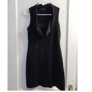 Banana Republic Little Black Dress Cowl Neck XS